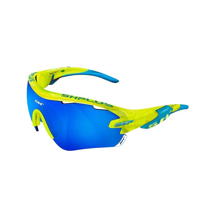 SH+(エスエイチプラス)RG5100 クリスタルイエロー/ブルー (レンズカラー ブルー) アイウェア