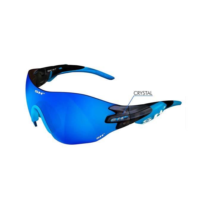 SH+(エスエイチプラス)RG5200 WX グラファイト/ブルー (レンズカラー ブルー) アイウェア