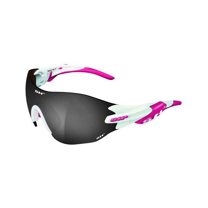 SH+(エスエイチプラス)RG5200 WX ホワイト/ピンク (スモーク) アイウェア