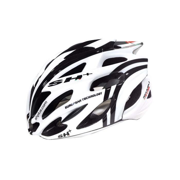 SH+(エスエイチプラス) SHABLI S-LINE シャブリエスライン ホワイトマット/ブラック UNIサイズ ヘルメット