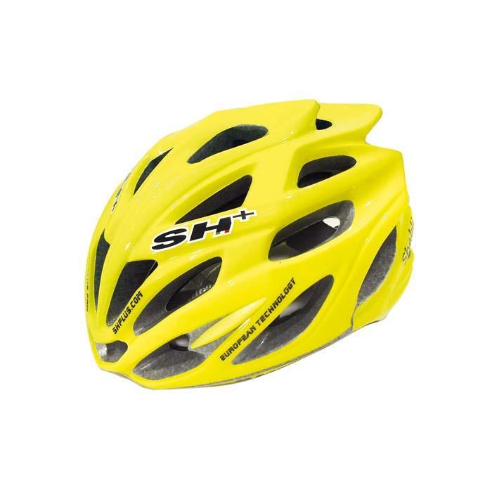 SH+(エスエイチプラス) SHABLI シャブリ イエローフルオマット UNIサイズ ヘルメット