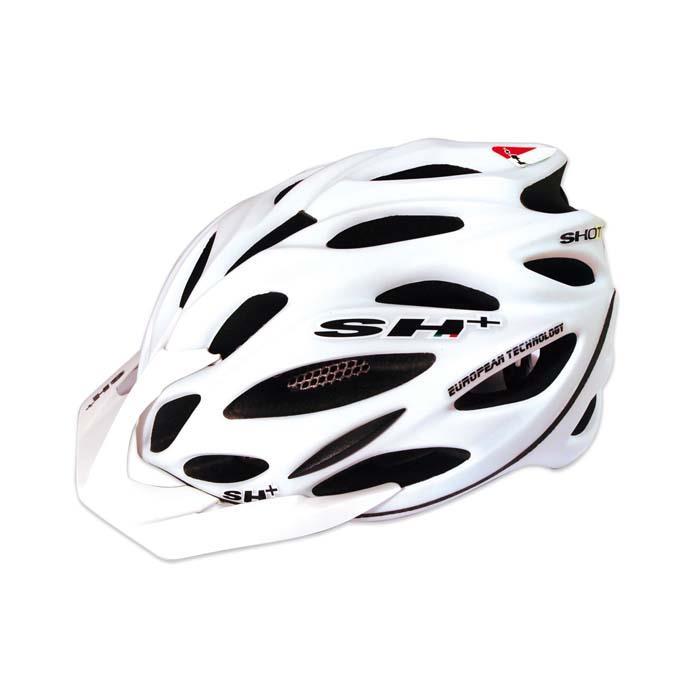 SH+(エスエイチプラス) SHOT R1 ショットR1 ホワイトマット UNIサイズ ヘルメット