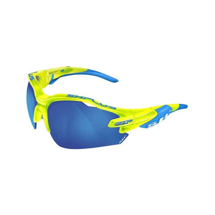 SH+(エスエイチプラス)RG5000 クリスタルイエロー/ブルー (レンズカラー ブルー) アイウェア