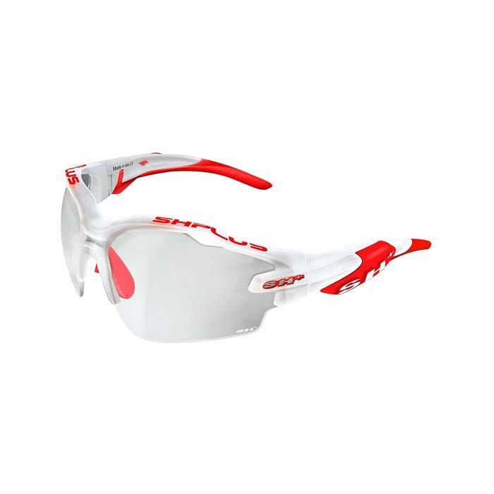 SH+(エスエイチプラス)RG5000 REACTIVE-PRO クリスタルホワイト/レッド アイウェア