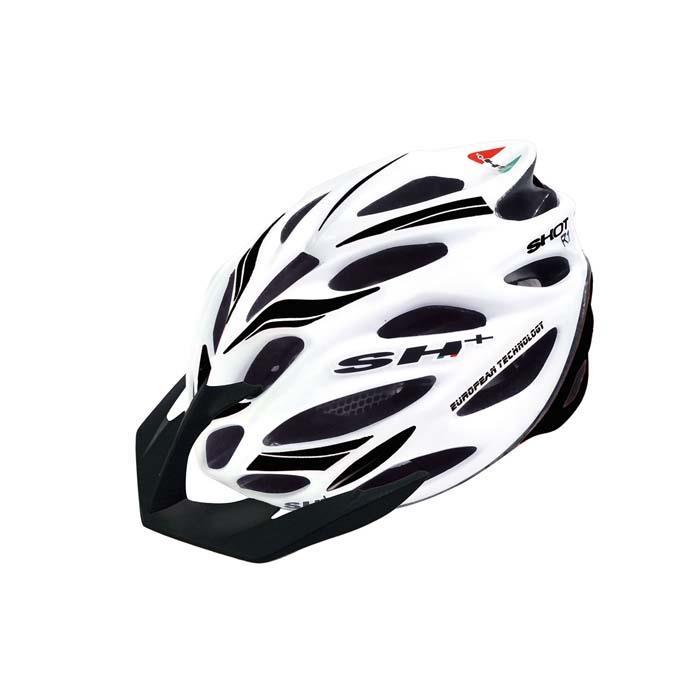 SH+(エスエイチプラス) SHOT R1 ショットR1 ホワイトマット/ブラック UNIサイズ ヘルメット
