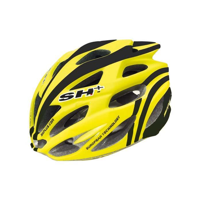 SH+(エスエイチプラス) SHABLI S-LINE シャブリエスライン イエローマット/ブラック UNIサイズ ヘルメット