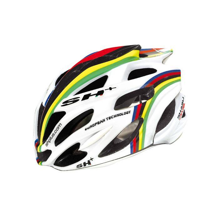 SH+(エスエイチプラス) SHABLI S-LINE シャブリエスライン ホワイトマット/iride UNIサイズ ヘルメット