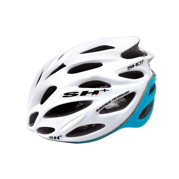 SH+(エスエイチプラス) SHOT ショット ホワイト/ブルー UNIサイズ ヘルメット
