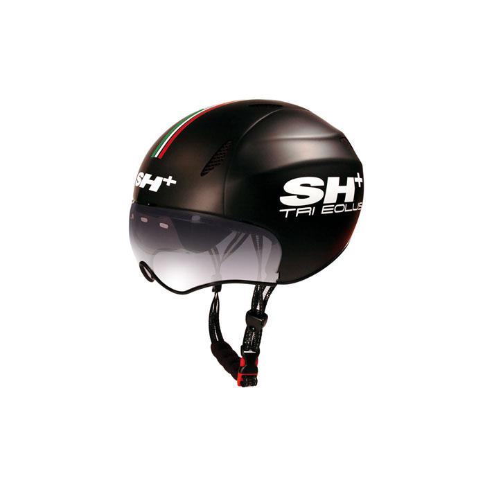 SH+(エスエイチプラス) TRI EOLUS トライエオラス ブラック/flag UNIサイズ ヘルメット