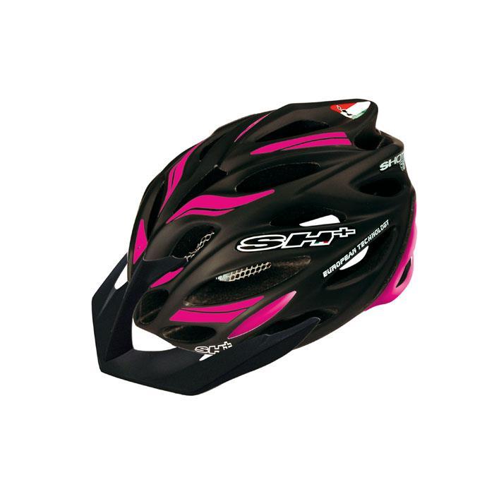 SH+(エスエイチプラス) SHOT R1 ショットR1 ブラックマット/ピンク UNIサイズ ヘルメット