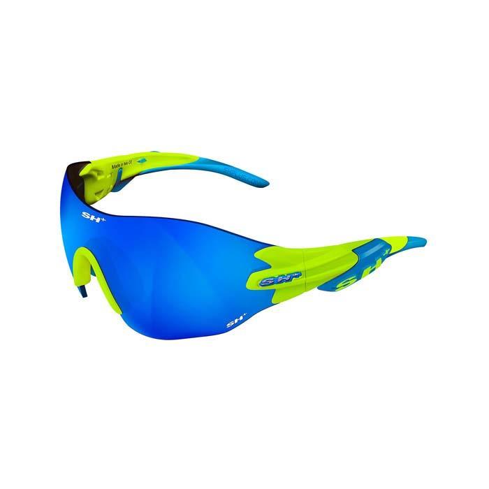 SH+(エスエイチプラス)RG5200 WX イエローフルオ/ブルー (レンズカラー ブルー) アイウェア
