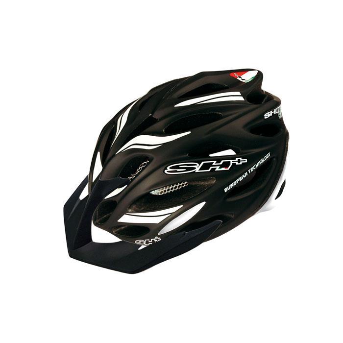 SH+(エスエイチプラス) SHOT R1 ショットR1 ブラックマット/ホワイト UNIサイズ ヘルメット
