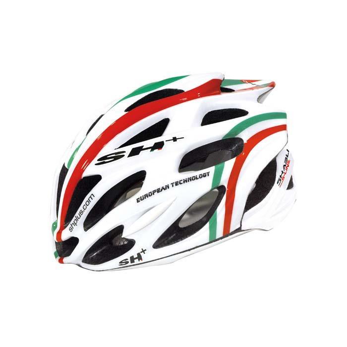 SH+(エスエイチプラス) SHABLI S-LINE シャブリエスライン ホワイトマット/flag UNIサイズ ヘルメット