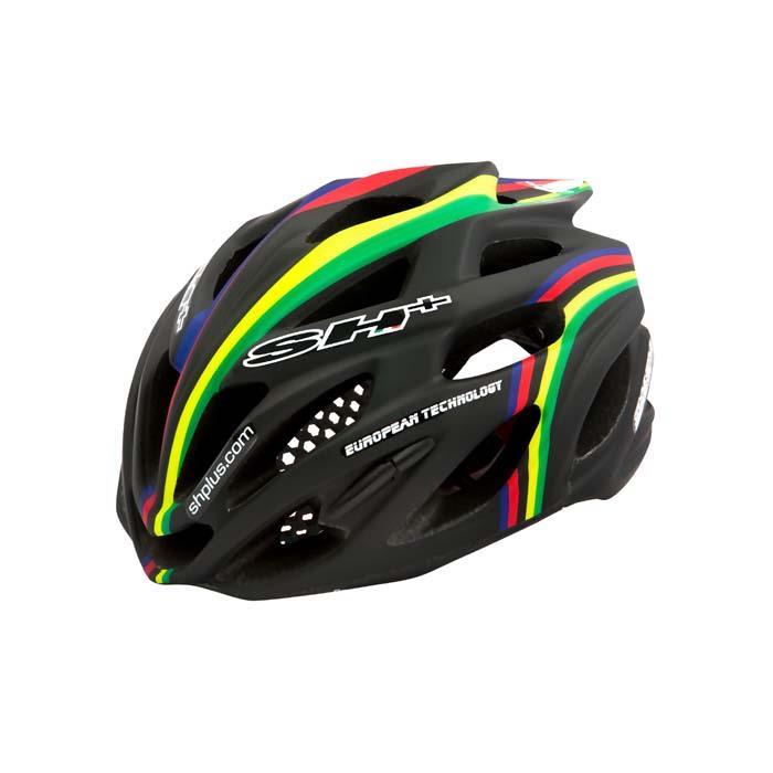 SH+(エスエイチプラス) SHABLI S-LINE シャブリエスライン ブラックマット/iride UNIサイズ ヘルメット