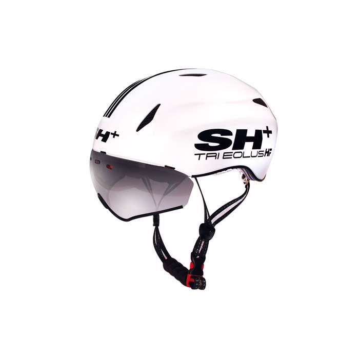 SH+(エスエイチプラス) TRI EOLUS HF トライエオラスHF ホワイト/ブラック UNIサイズ ヘルメット