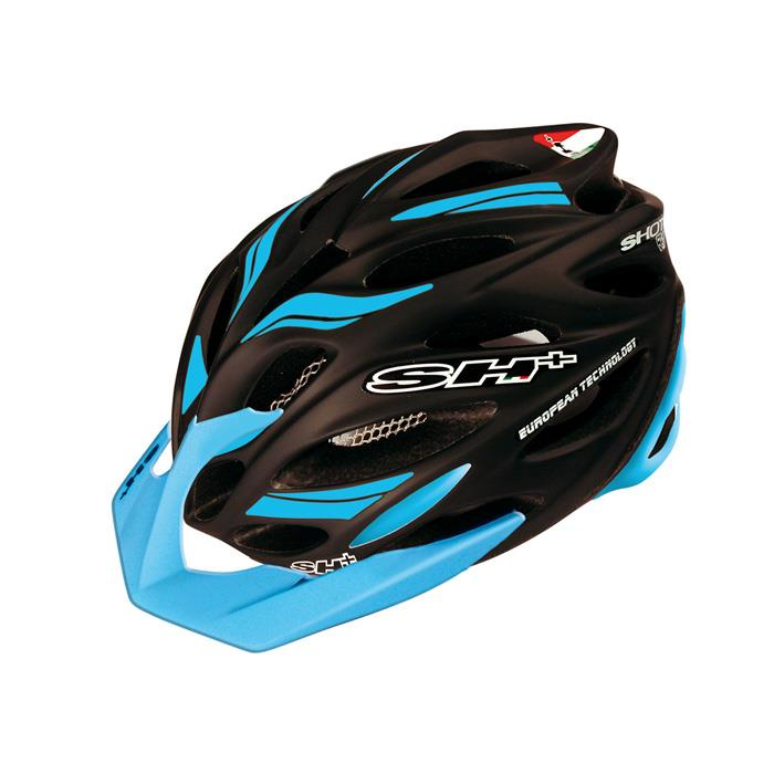 SH+(エスエイチプラス) SHOT R1 ショットR1 ブラックマット/ブルー UNIサイズ ヘルメット