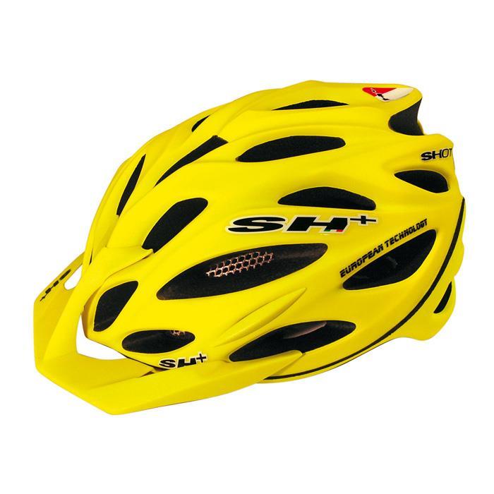 SH+(エスエイチプラス) SHOT R1 ショットR1 イエローフルオマット UNIサイズ ヘルメット