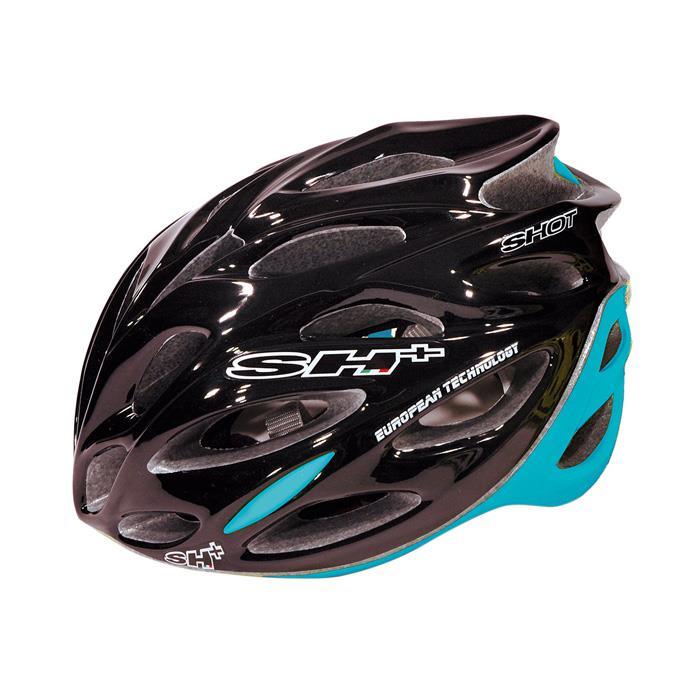 SH+(エスエイチプラス) SHOT ショット ブラック/ブルー UNIサイズ ヘルメット