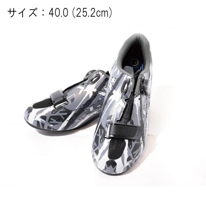 SHIMANO (シマノ) RP5 GRAY CAMO サイズ40.0 (25.2cm) シューズ