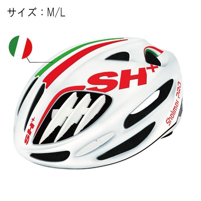 SH+(エスエイチプラス)SHALIMAR シャリマー ホワイトマット/FLAG サイズM/L ヘルメット