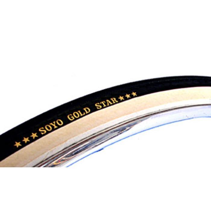 SOYO (ソーヨー) GOLD STAR シームレス ゴールドスター タイヤ チューブラー 【自転車】【05P30Nov14】