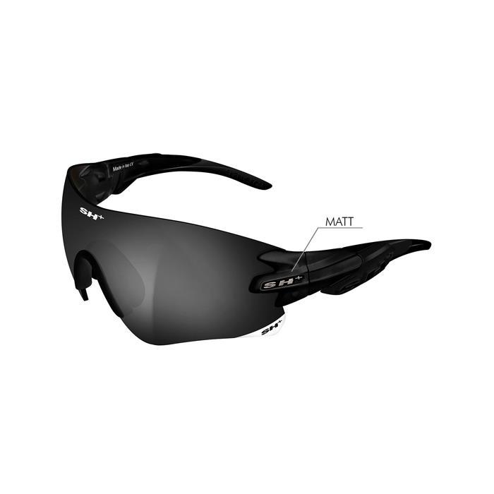 SH+(エスエイチプラス)RG5200 ブラックマット (スモーク) アイウェア