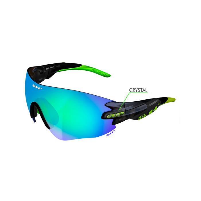 SH+(エスエイチプラス)RG5200 グラファイト/グリーン (レンズカラー グラファイト) アイウェア