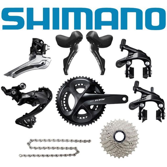 SHIMANO (シマノ) 105-R7000 ブラックコンポセット 【ロードバイク】
