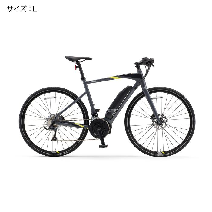 YAMAHA(ヤマハ) 2018 YPJ-EC サイズL(170cm-) マットダークグレー 電動アシスト自転車