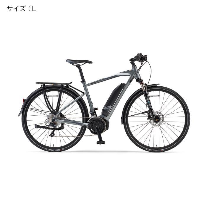 YAMAHA(ヤマハ) 2018 YPJ-TC サイズL(170cm-) サテンシルバー 電動アシスト自転車