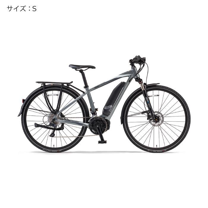 YAMAHA(ヤマハ) 2018 YPJ-TC サイズS(154cm-) サテンシルバー 電動アシスト自転車