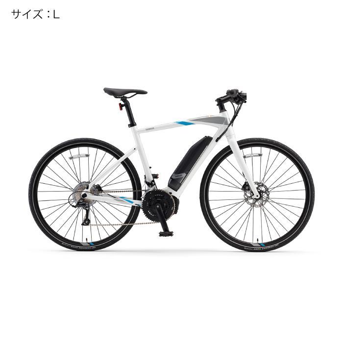 YAMAHA(ヤマハ) 2018 YPJ-EC サイズL(170cm-) ピュアホワイト 電動アシスト自転車