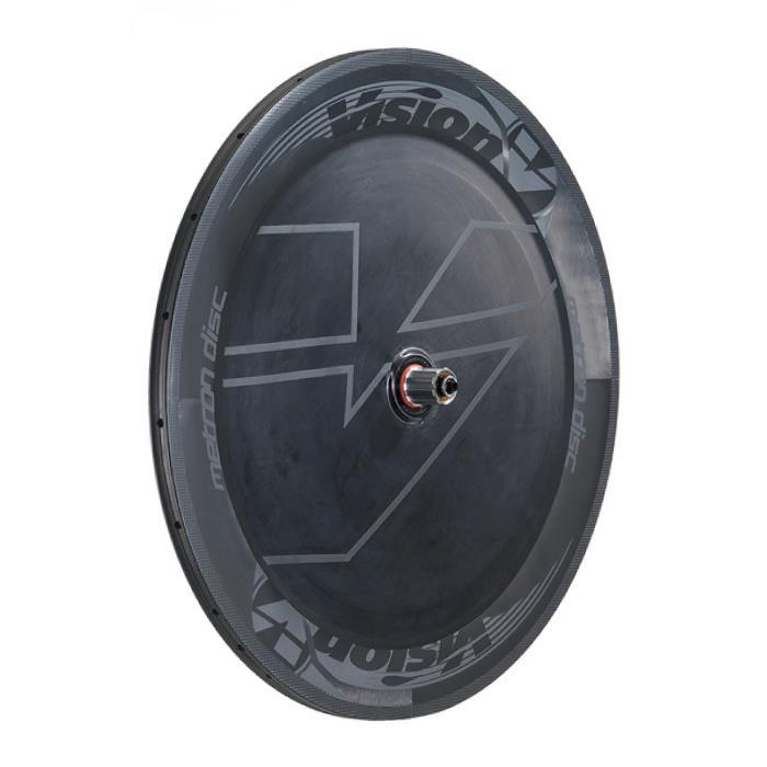 Vision (ヴィジョン) METRON DISC グレイ/ブラック シマノ11Sチューブラー リアホイール