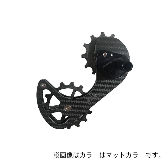 Carbon Dry Japan(カーボンドライジャパン)ビッグプーリーキット V3 CAMPY 11S グリーン12-15T