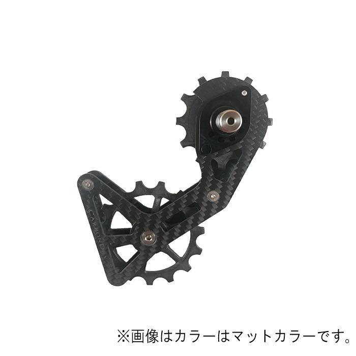 Carbon Dry Japan(カーボンドライジャパン)ビッグプーリーキット V3 フルセラミックR91/R80系 クリア12-15T