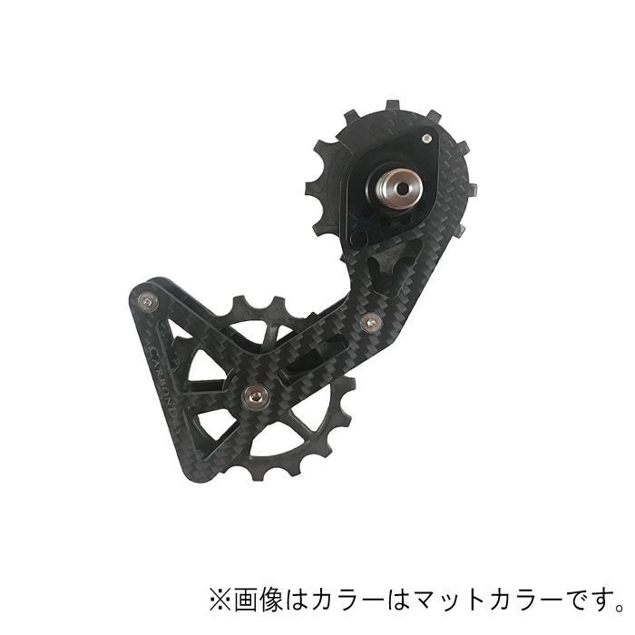 Carbon Dry Japan(カーボンドライジャパン)ビッグプーリーキット V3 フルセラミックSRAM 11S クリア12-15T