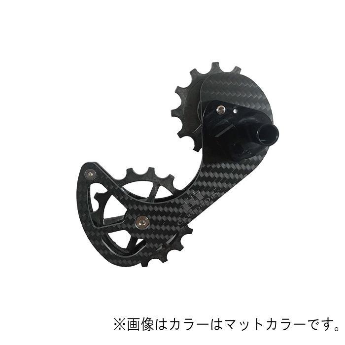 Carbon Dry Japan(カーボンドライジャパン)ビッグプーリーキット V3 フルセラミックCAMPY 11S イエロー12-15T