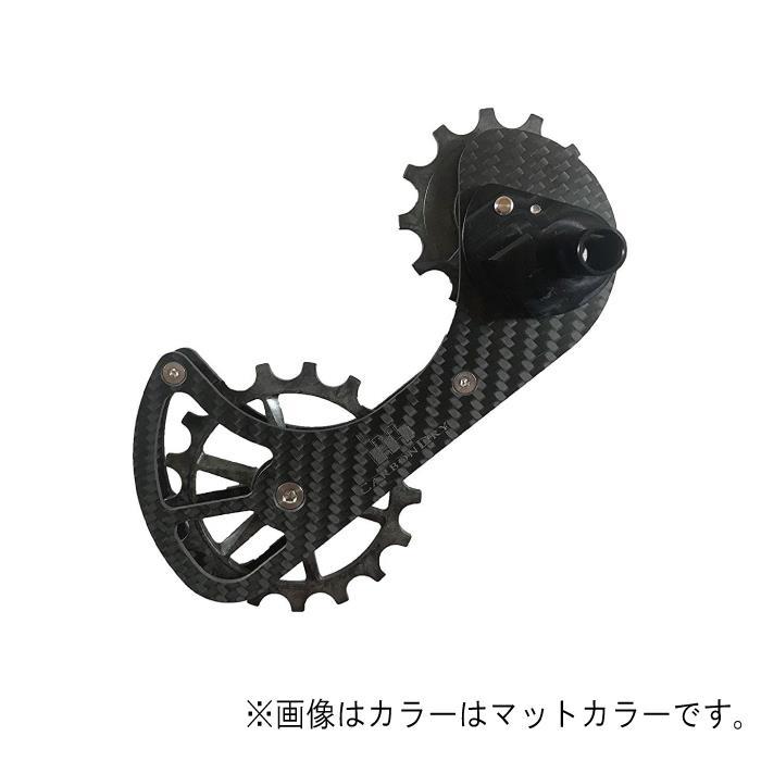 Carbon Dry Japan(カーボンドライジャパン)ビッグプーリーキット V3 PLUS フルセラミックCAMPY 11S グリーン12-17T