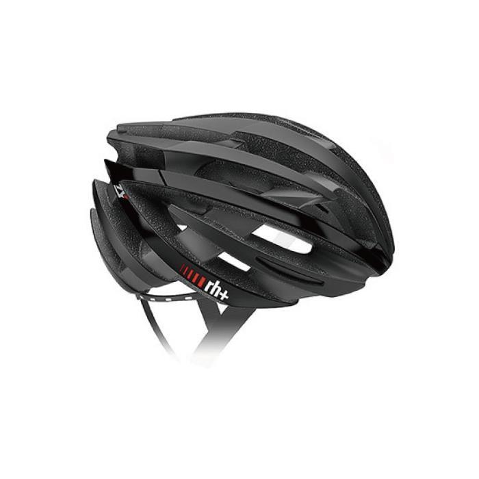 rh+(アールエイチプラス)ZY EHX6055マットブラック/アローシャイニーブラックXS/M ヘルメット