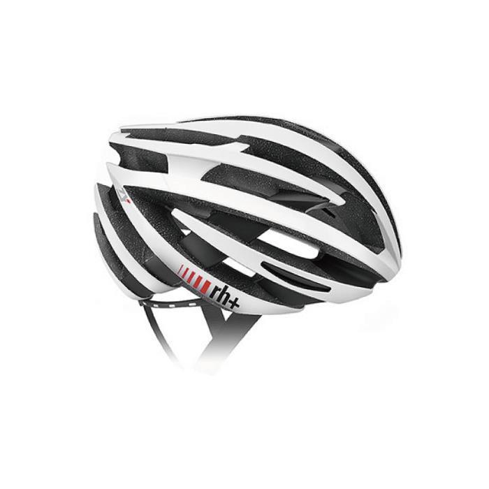rh+(アールエイチプラス)ZY EHX6055マットホワイト/ブリッジマットブラックXS/M ヘルメット