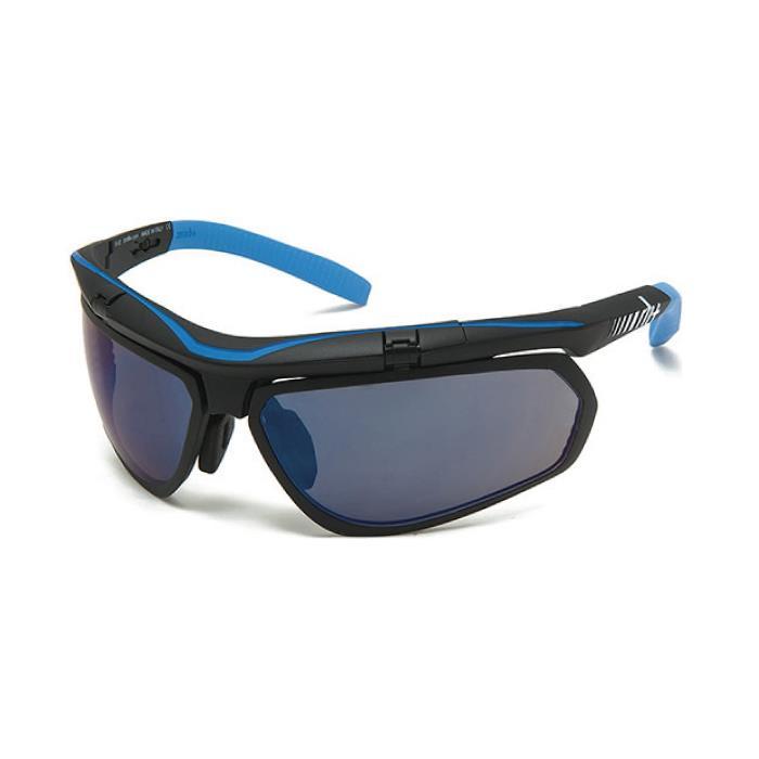 rh+(アールエイチプラス)OLYMPO Air-X RH863マットブラック/ライトブルー(ミラーブルー)サングラス