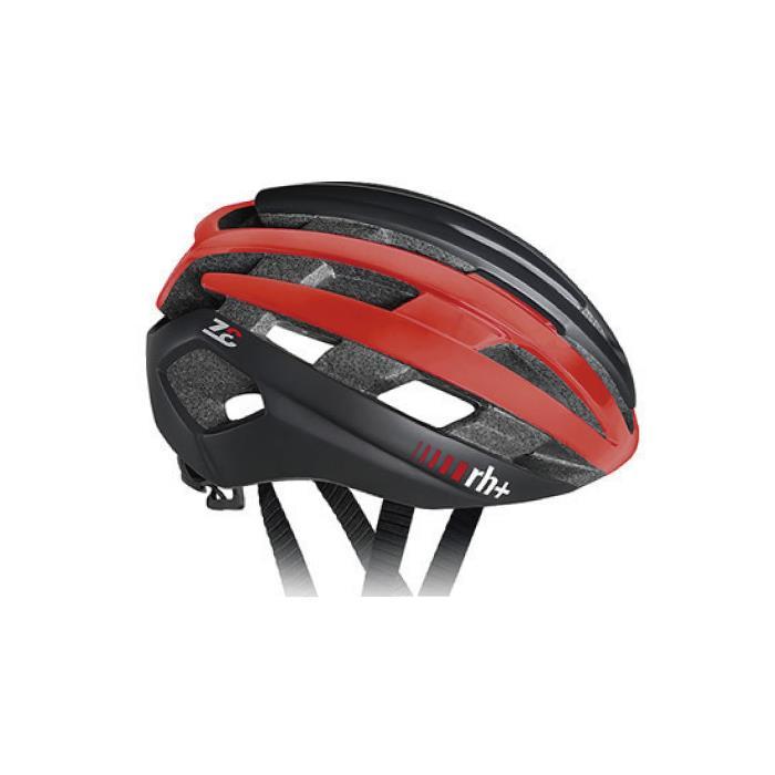 rh+(アールエイチプラス)Z-Epsilon EHX6074マットブラック/シャイニーレッド/マットブラックXS/M ヘルメット