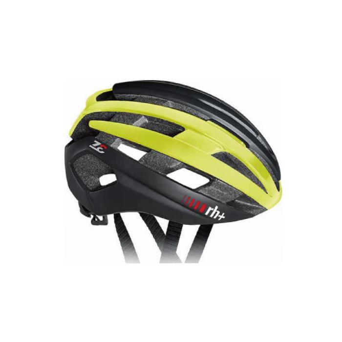 rh+(アールエイチプラス)Z-Epsilon EHX6074マットブラック/シャイニーイエロー/マットブラックL/XL ヘルメット