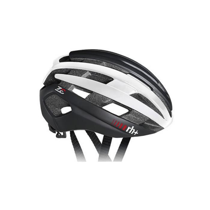 rh+(アールエイチプラス)Z-Epsilon EHX6074マットブラック/シャイニーホワイト/マットブラックXS/M ヘルメット
