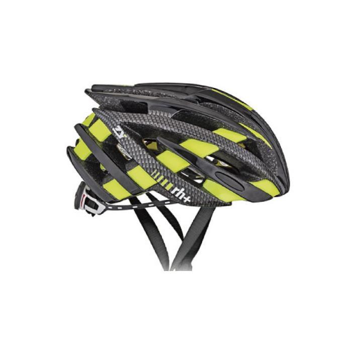 rh+(アールエイチプラス)ZY EHX6055シャイニーブラック/カーボンルック/ブリッジシャイニーイエローフルオXS/M ヘルメット