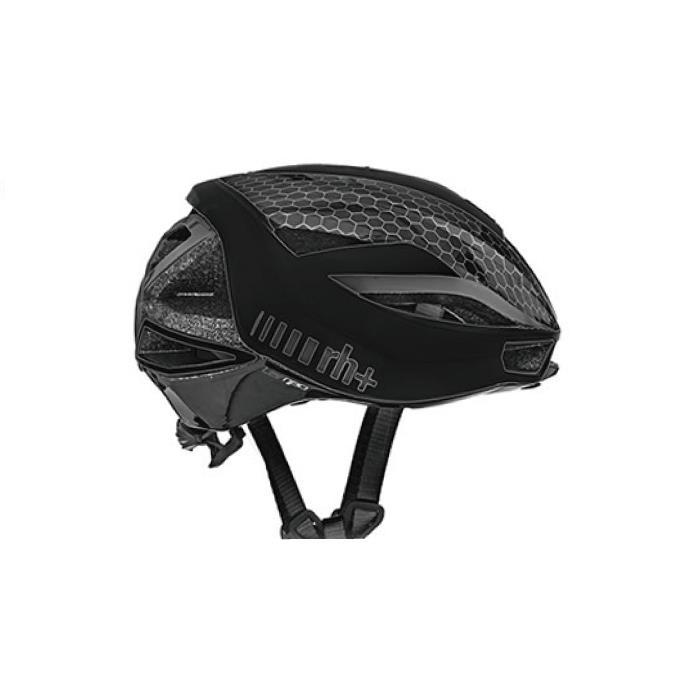 rh+(アールエイチプラス)LAMBO EHX6077マットブラック/ダークシルバーXS/M ヘルメット