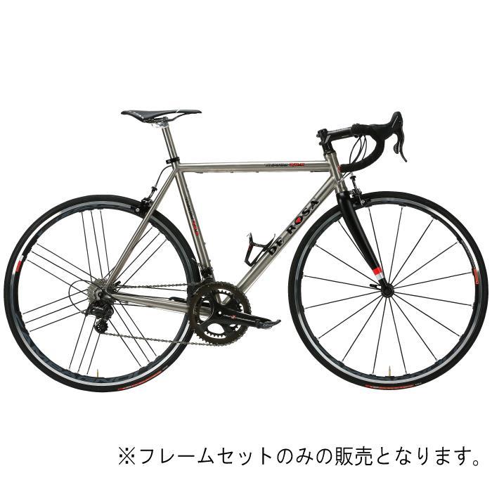 DE ROSA (デローザ)Titanio 3.25 Ti/Black WMNサイズ49 (166-171cm)フレームセット