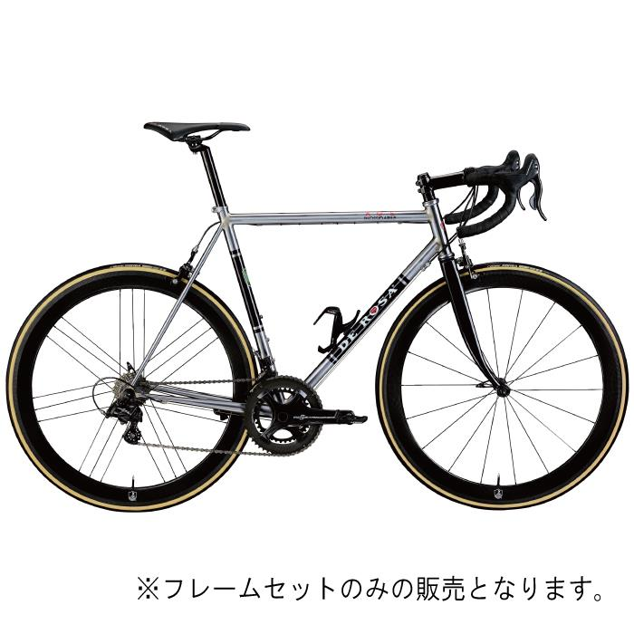 DE ROSA (デローザ)AGE アジェ Inossidabile Inox Blackサイズ57 (180-185cm)フレームセット