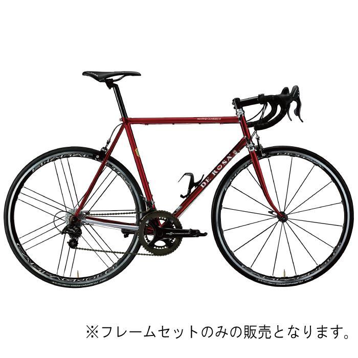 DE ROSA (デローザ)Nuovo Classico Red Chromeサイズ52 (170.5-175.5cm)フレームセット