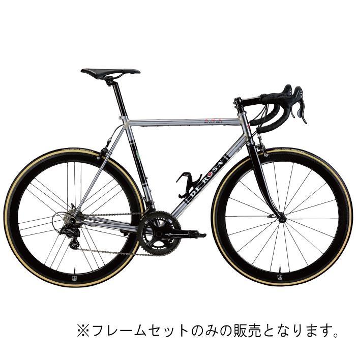 DE ROSA (デローザ)AGE アジェ Inossidabile Inox Blackサイズ48 (167-172cm)フレームセット